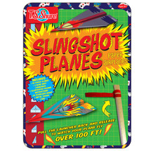 Slingshot Planes Paper Airplanes Activity Tin
