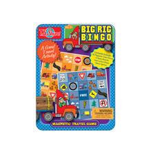 Big Rig Bingo Magnetic Mini Tin Playset