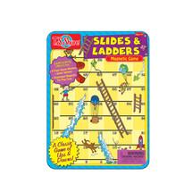 Slides & Ladders Magnetic Mini Tin Playset