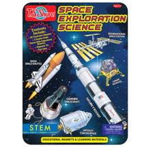 Space Exploration Educational Magnets Science Tin