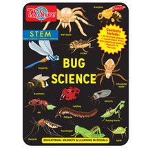 Bug Science Educational Magnets Tin