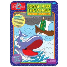 Jonah and the Whale Magnetic Tin Playset
