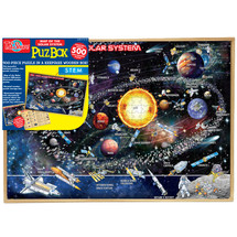 Map of the Solar System Jumbo Wooden Jigsaw Puzzle
