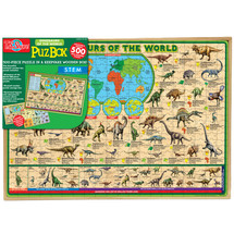 Dinosaurs of the World Jumbo Wooden Jigsaw Puzzle