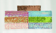 Assorted Sequin Head Wrap (Dozen)