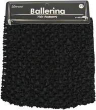 Large Black Ballerina Head Wrap (Dozen)