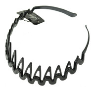 Black Tooth Hair Band (Dozen)