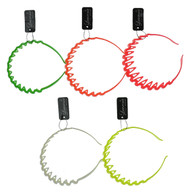 Neon Assorted Tooth Hair Band (Dozen)