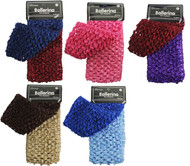Small Dark Assorted Ballerina Head Wrap (Dozen)