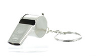 Metal Whistle Keychain (Dozen)