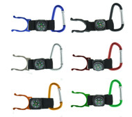 D Shape with Compass Keychain (Dozen)