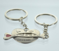Heart & Bone Couple Keychain (Dozen)