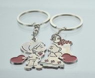 Kissing Couple Keychain (Dozen)