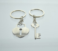 Lock & Key Couple Keychain (Dozen)