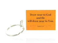James 4:8 Keychain (Dozen)