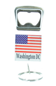 Washington DC Bottle Opener Keychain (Dozen)