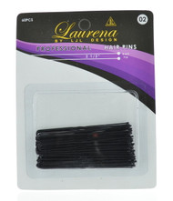 "2.5"" Black Hair Pin (Dozen)"