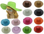 Regular Derby Straw Hat