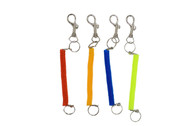 Key Ring- Large Spiral Asst. (dz)