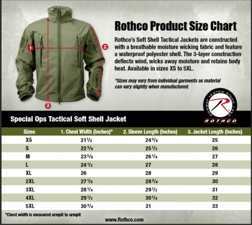 1a6ee2592 Rothco Special Ops Tactical Hooded Soft Shell Jacket