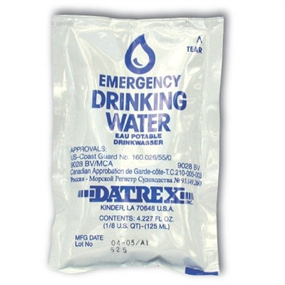 Drinking Water Foil Pouch - 4 oz. 35315 SOS Survival Products