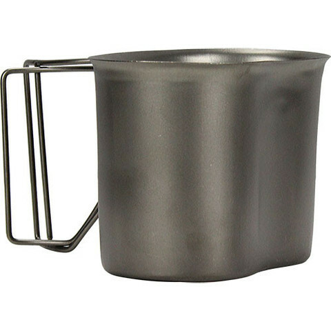 GI STAINLESS STEEL CANTEEN CUP