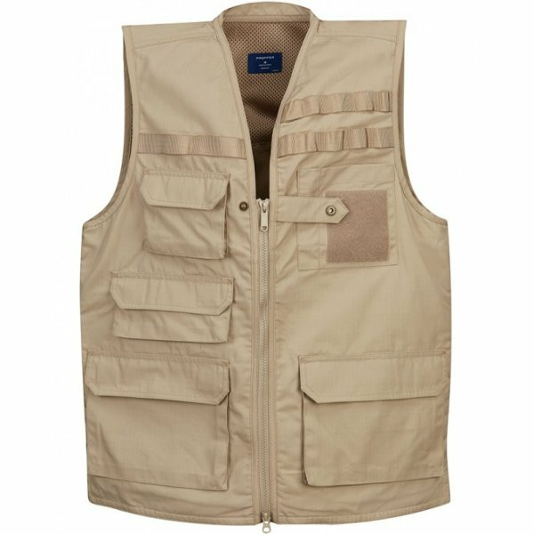 Lightweight Ripstop Tactical Vest - Khaki