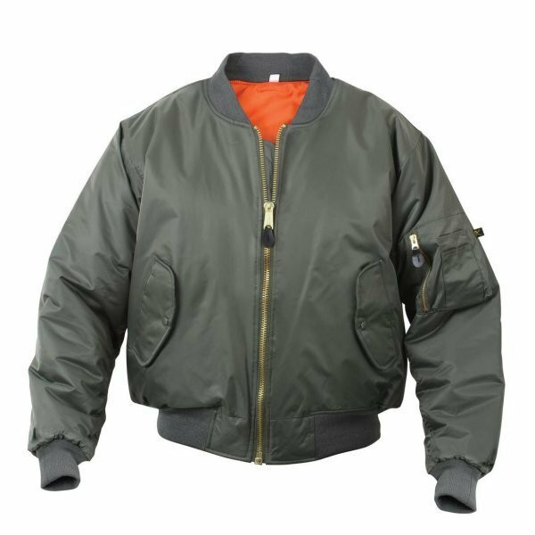 Rothco MA-1 Flight Jacket Sage Green