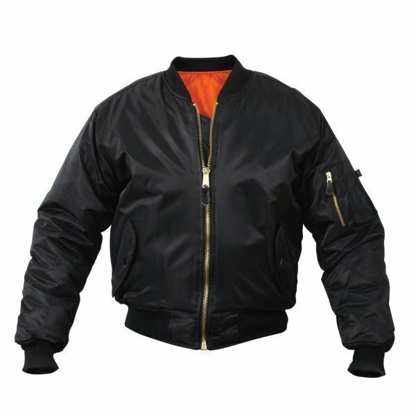 fe2605cd703b1 Rothco Classic MA-1 Flight Jacket