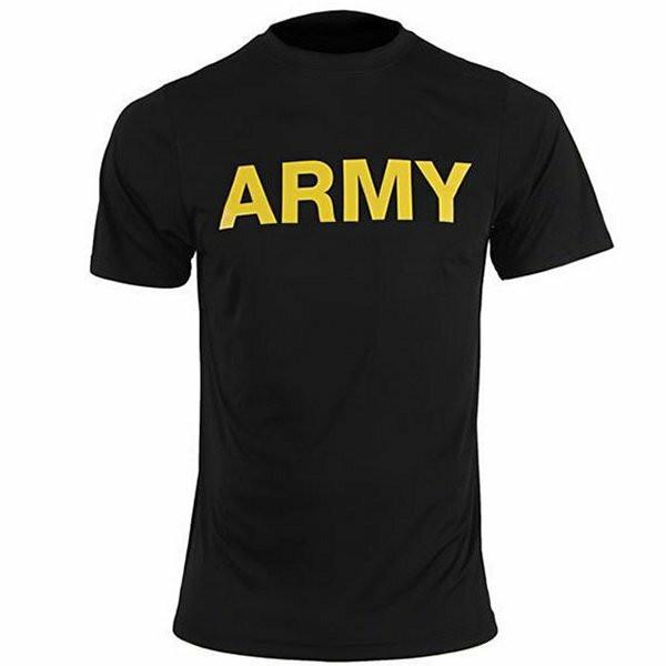 Army Physical Training T-Shirt Moisture Wicking armynavyoutdoors