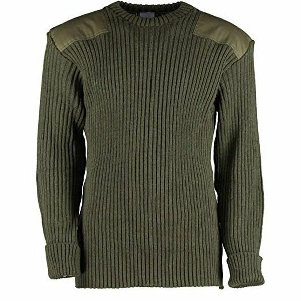 d06d05d464ce0 Wool Commando Sweater Government Type - Olive Drab - ArmyNavyOutdoors.com