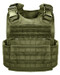 Olive MOLLE plate carry vest rothco 8924 armynavyoutdoors