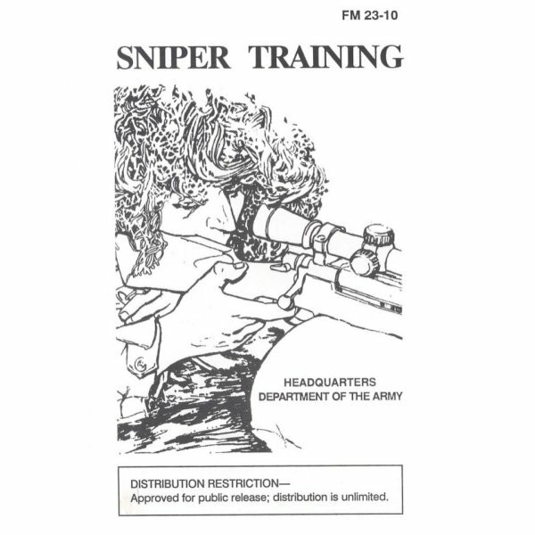 Sniper Training Military Manual Free Download FM 23-10