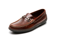 Men's handsewn Bit Driver dark brown