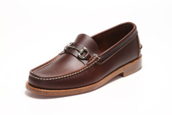 Men's Bit Loafer (Dark Brown Leather)