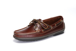 Men's Boat Driver (Dark Brown Leather)