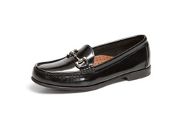 Women's Bit Comfort Loafer (Black Patent Leather)