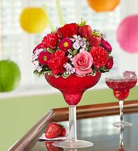 Strawberry Floral Margarita