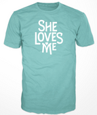 She Loves Me Logo Tee - Unisex
