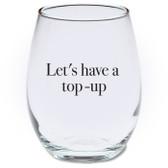 Apologia Stemless Wine Glass