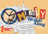 Merrily We Roll Along Magnet
