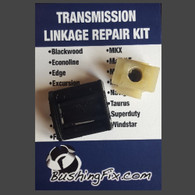 Lincoln MKS transmission shift selector cable and replacement bushing