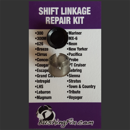 Chrysler Sebring shift bushing repair for transmission cable