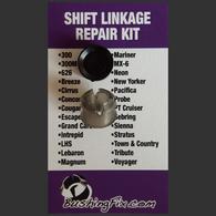Dodge Grand Caravan shift bushing repair for transmission cable