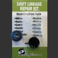 Kia K900 shift bushing repair for transmission cable