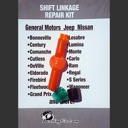 Chevrolet bushing repair kit
