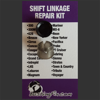 Dodge Dynasty shift bushing repair for transmission cable