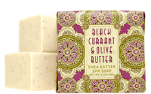 Black Currant & Olive Butter Luxurious Spa Soap