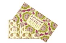 Black Currant & Olive Butter Soap Set of 3