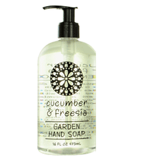 Cucumber & Freesia Garden Liquid Hand Soap